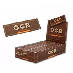 $545 C/U, Librito ,OCB Virgin, No blanqueado 1 1/4, venta x caja de 25 libritos
