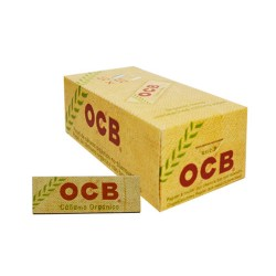 $390 C/U,  libritos de Papel OCB 1 , Cañamo Orgánico, venta x caja de 50 libritos