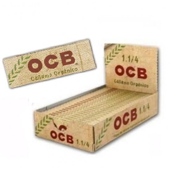 $508 C/U,  libritos de Papel OCB 1 1/4, Cañamo Orgánico, venta x caja de 25 libritos