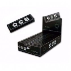 $495 C/U,  libritos de Papel OCB Negro Premium 1 ¼, venta x caja de 25 libritos