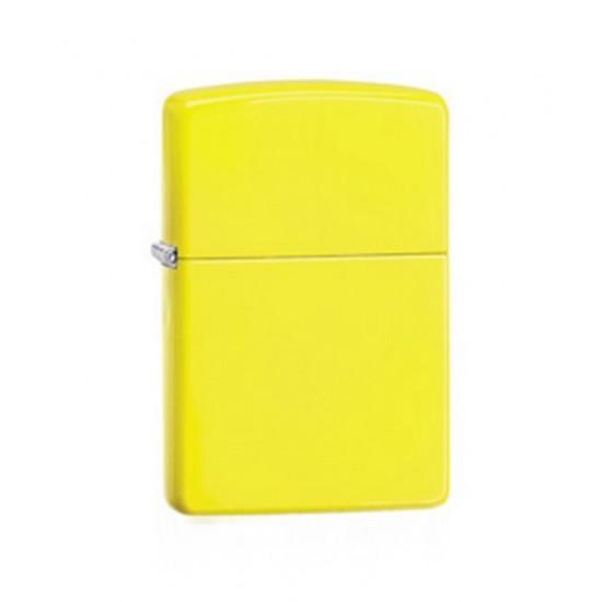 Zippo, Neon Yellow, 28887