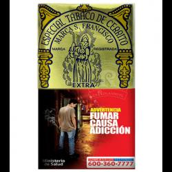 $5.650 c/u, Tabaco Cerrito, venta por pack de 5 unidades