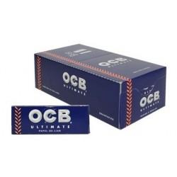 $378 C/U, Librito ,OCB Ultimate 1 (7 mm), venta x caja de 50 libritos