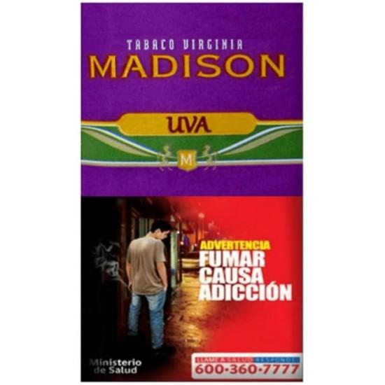 $5.650 c/u, Tabaco Madison UVA, venta por pack de 5 unidades