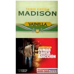 $5.650 c/u, Tabaco Madison Vainilla, venta por pack de 5 unidades