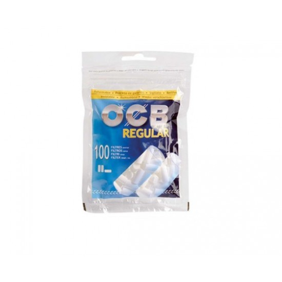 $698 C/U, bolsa de Filtro OCB Regular, venta x caja 10 bolsas
