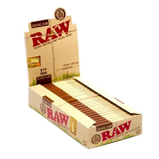 """$660 C/U, Librito RAW Cañamo Organico 1 1/4"""", venta x caja de 24 libritos"""