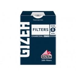 $960 C/U , Cajita Filtro Gizeh Regular Azul (Carbon Activado), venta x caja de 10 Cajitas