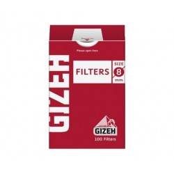 $800 C/U , Cajita Filtro Gizeh Regular 8mm , venta x caja de 10 cajitas