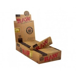 "$546 C/U, Librito RAW Classic  1 1/4"", venta x caja de 24 libritos"