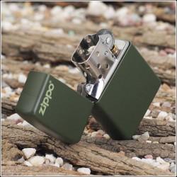 Zippo, Green logo, 221zl
