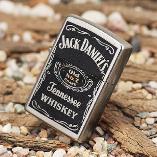Zippo, Jack Daniel Label, 24779