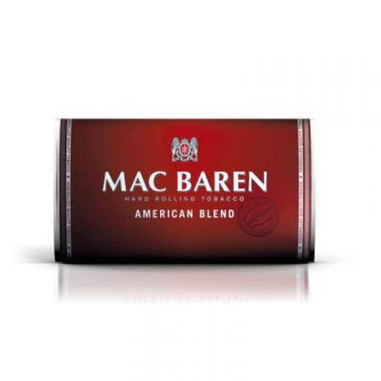 $5.690 c/u, Tabaco ,American Blend, Mac Baren pack 5