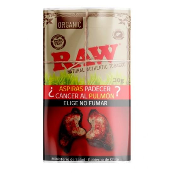 $6.490 c/u, Tabaco , Organic, Raw, pack 5